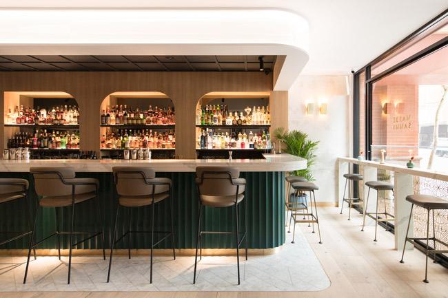 Maybe sammy cocktail bar interior