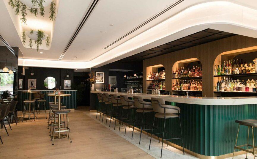 interior of maybe sammy restaurant and bar